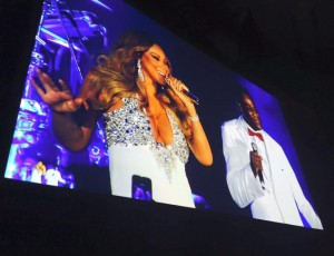 Chunky Jam Support Mariah Carey NYE 2015