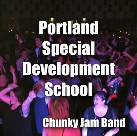 Chunky Jam perform for Portland Special Development School